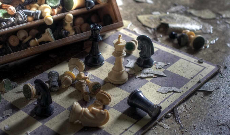chess, доска, рисунок, story
