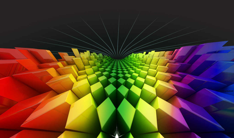 ромбы, радуга, квадраты, colors, shaped, текстура,
