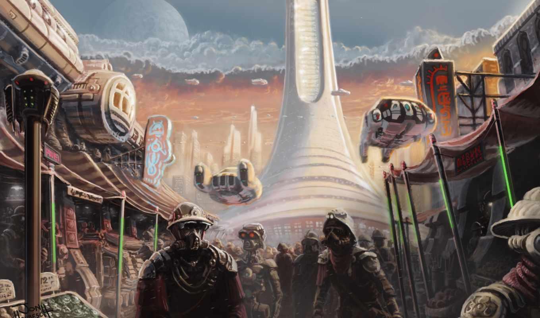 jonhrubesch, art, more, будущего, машины, фантастические, marketplace, deviantart,