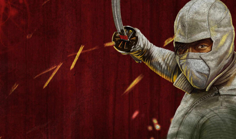 ninja, воин, разное, рисованные,