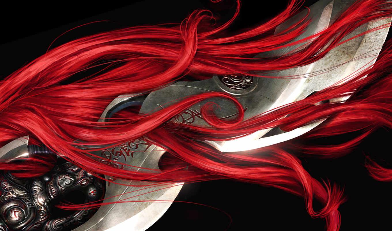 fantasy, мечи, heavenly, меч, игры, ткань, ноября, плакат, шелк,