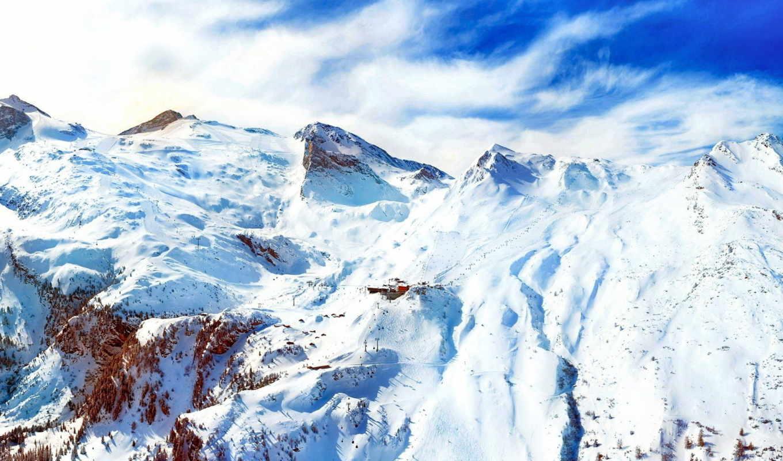 горы, альпы, горных, фото, курорт, вершины,
