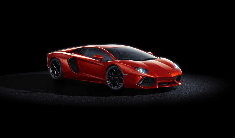 машины, lamborghini, favourite, red, aventador, авто, ламборгини,