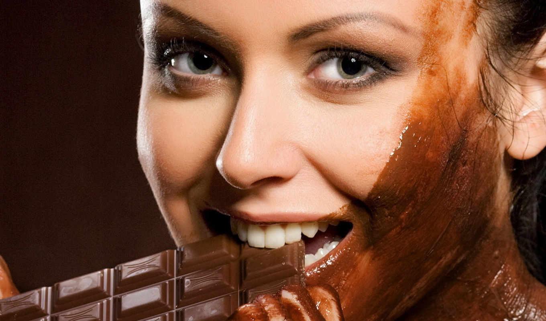 Девушка в шоколаде загрузить