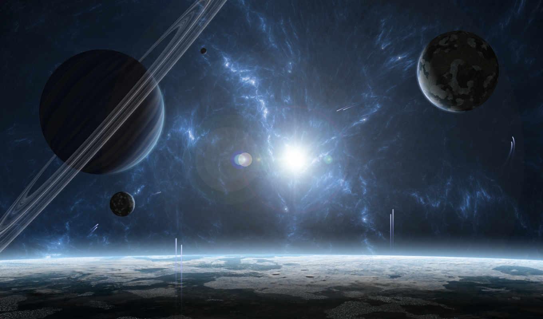 звездная, система, планеты, звезда, газовый, гигант, planets, картинка,