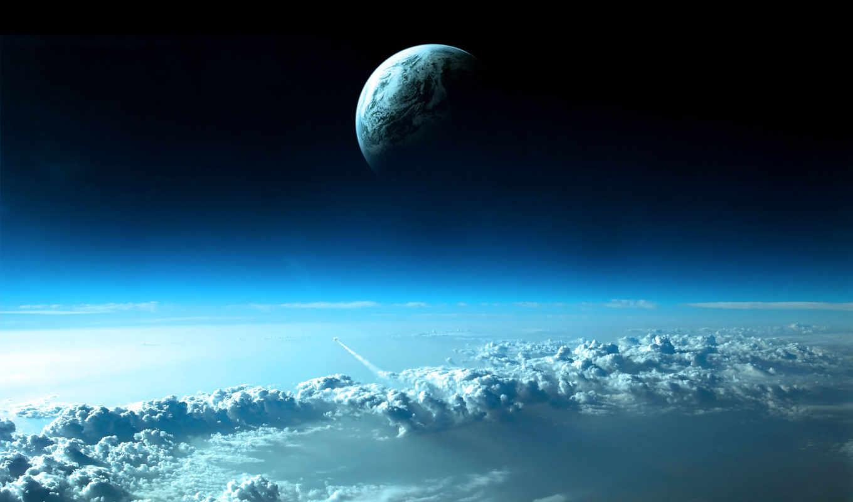 облака, планета, desktop, clouds, space, fondos, ipad, nubes, атмосфера, best, retina, части, scene, верхней, parte, pantalla, click, planets, pictures, azules, las, planeta, superior,