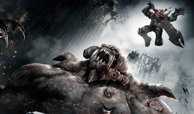 darksiders, игры, war, игра, games, видео, wrath,