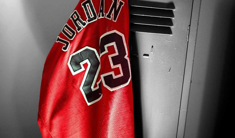 баскетбол, jordan, michael, рубашка, locker,