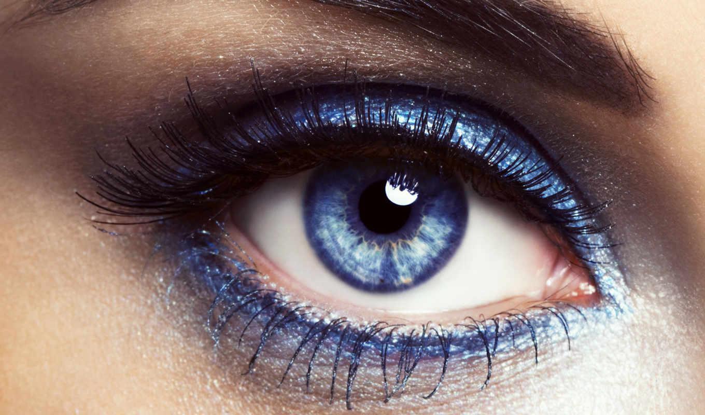 глаз, глаза, макияж, серо, тени, blue, cine, ресницы, color, grey,