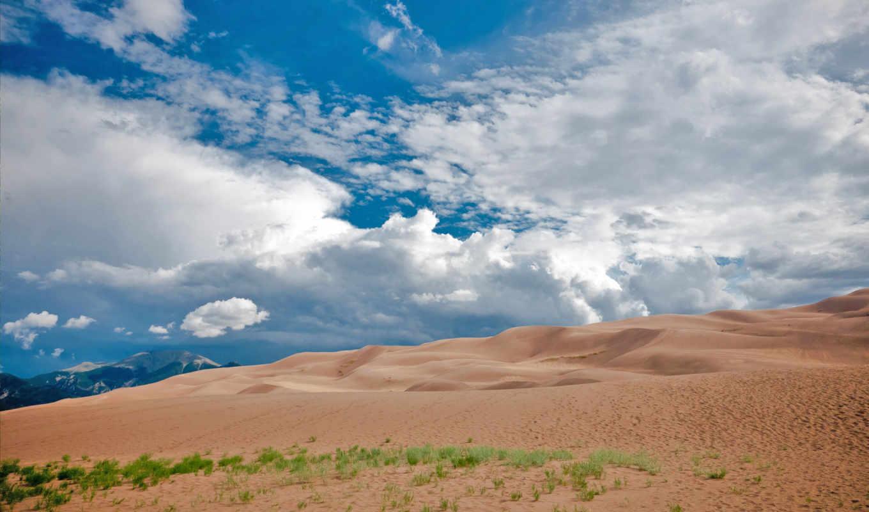 mix, разрешениях, разных, горы, фоне, неба, облаков,