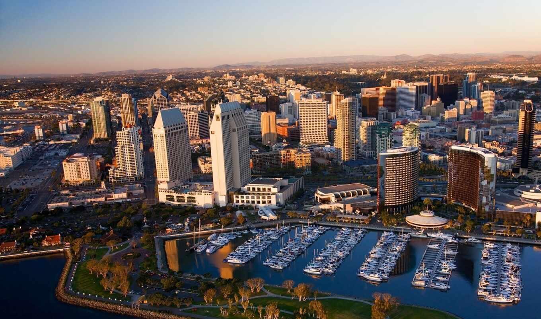 usa, san, california, diego, город, картинка,
