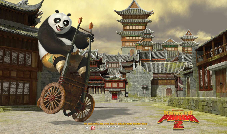 панда, кунг, Кунг-фу,