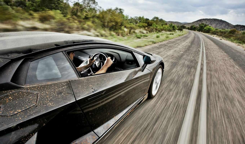 скорость, top, gear, lamborghini, aventador, дорога,