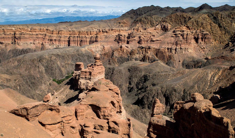 каньон, grand, чарынский, sharyn, мира, kazakhstan, самых, грандиозных,
