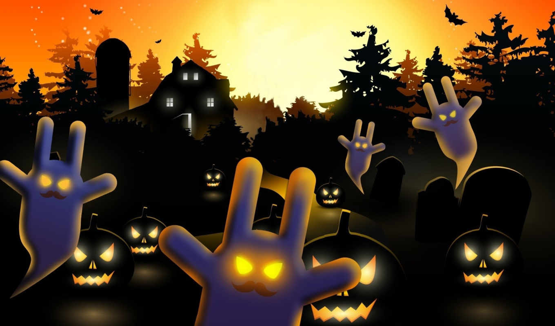 halloween, desktop, компьютер, год, free, happy,