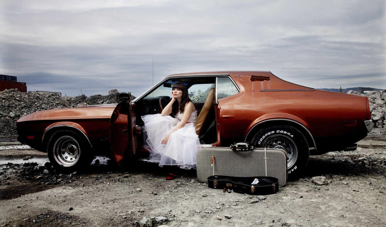 cars, girls, larsen, платье, marit, девушка,