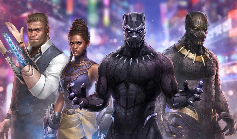 marvel, бой, будущее, panther, black, черная, фильма, заставка,