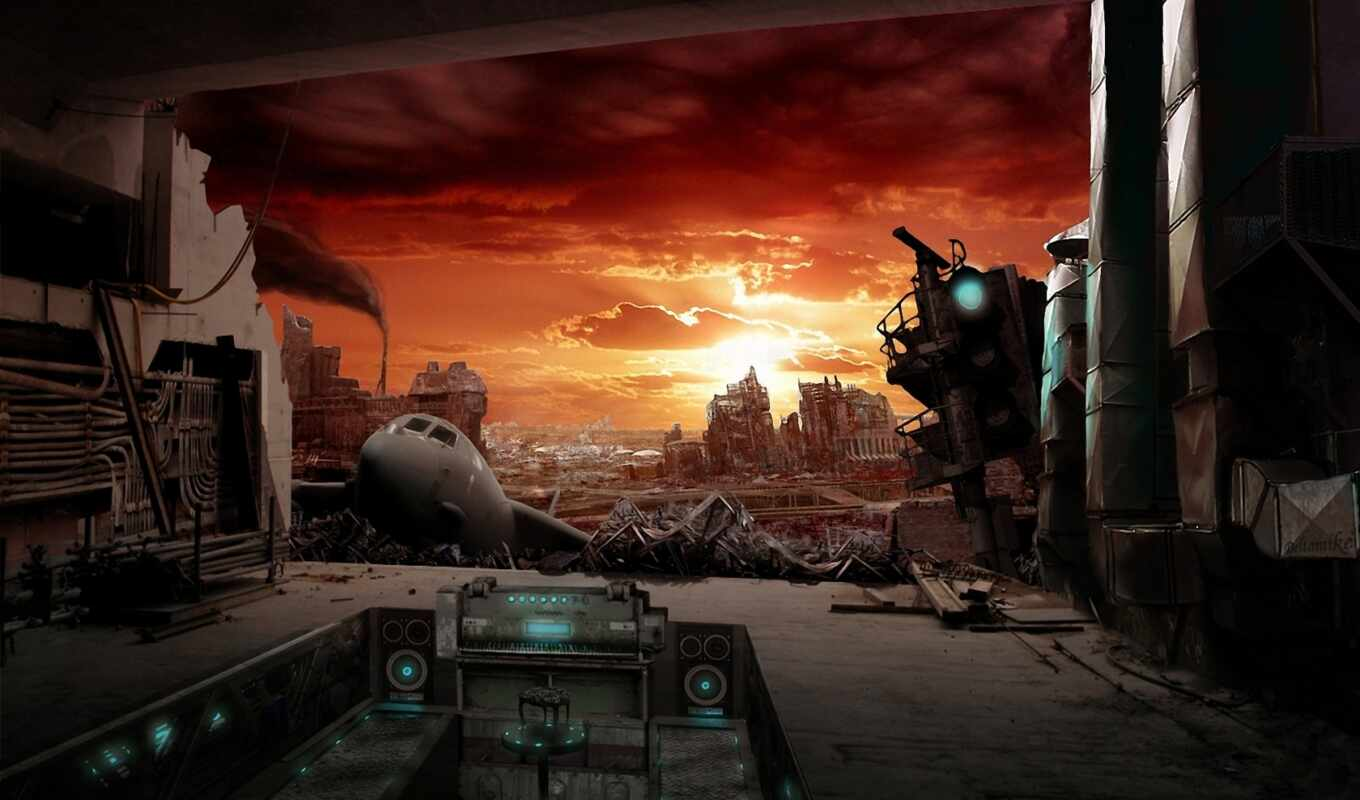 post, the, apocalypse, apocalyptic, and, постапока