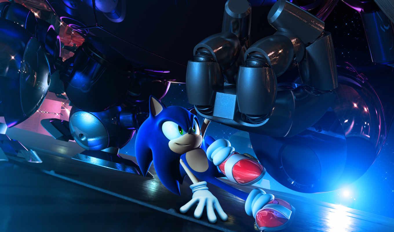 sonic, hedgehog, desktop, unleashed, game,