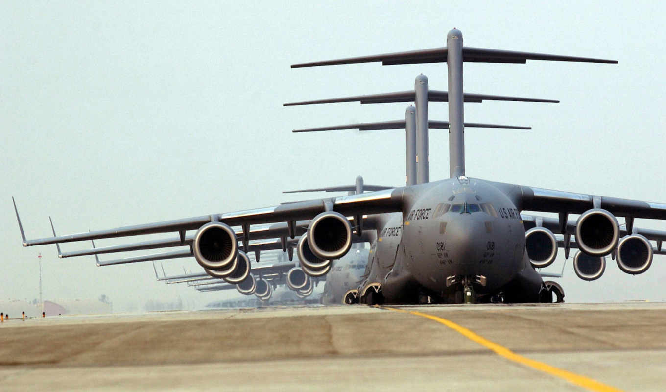 air, force, globemaster, military, mcdonnell, iii, douglas, desktop, download, view,
