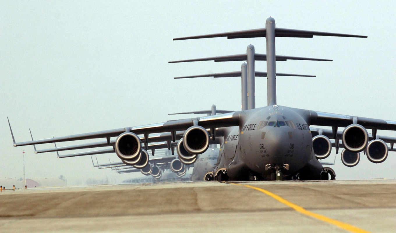 air, force, globemaster, military, mcdonnell, iii, douglas, desktop, download, view,