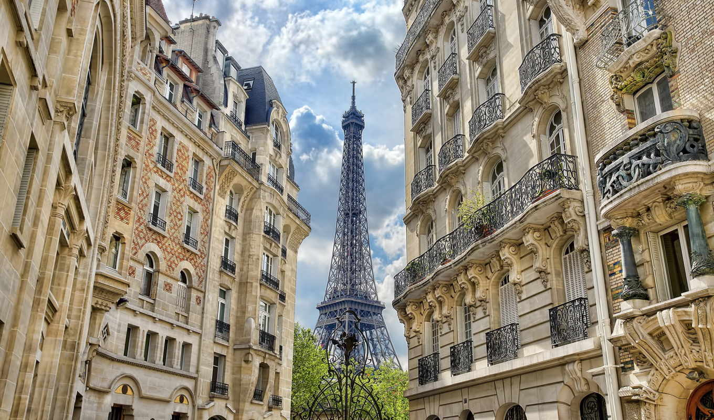 france, paris, башня, улица, эйфелева,