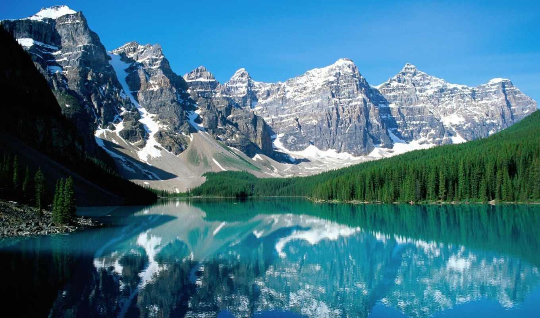 горы, озеро, самые, мост, интересные, canada, парк, находится, координаты, туристические,