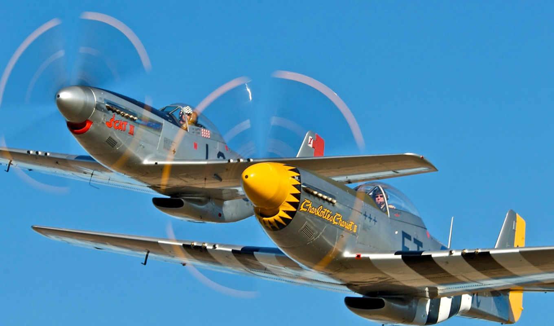 mustang, aircraft, موستانج,