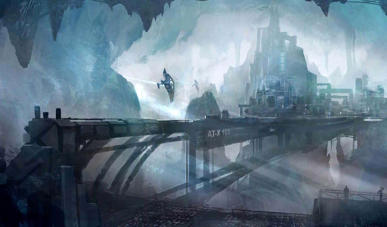 concept, город, underground, artist,