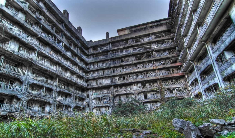 город, остров, ghost, японии, хасима, япония, хашима, pripyat, ukraine, гункандзима,