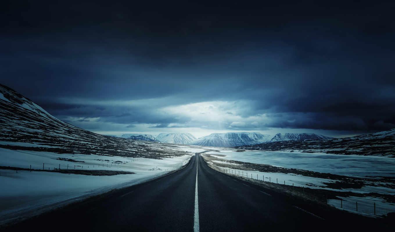 дорога, winter, aaron, gipsy, природа, дороги, горы,