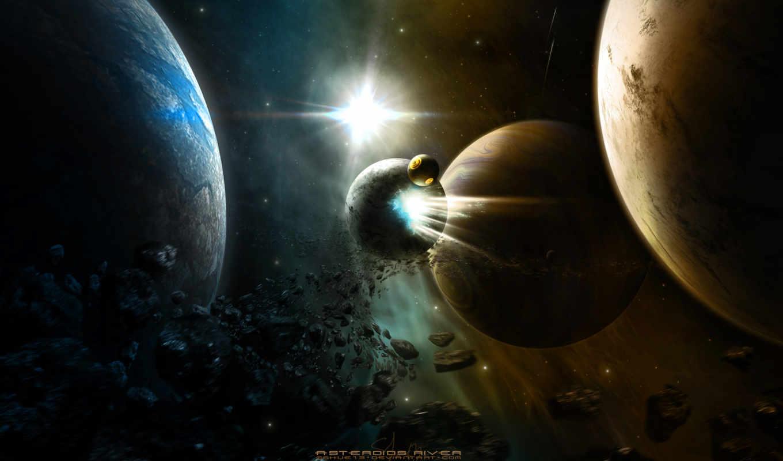 космоса, часть, asteroids, открытого, изображением, tags, river, şirince, арт, this,