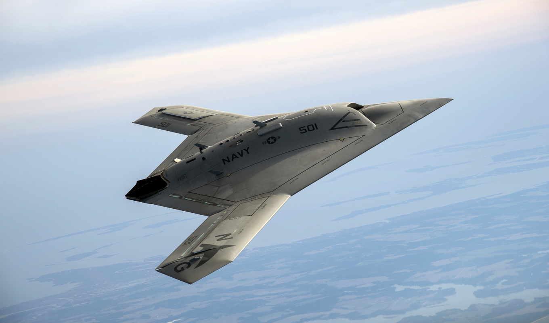 Беспилотник, x-47b, авиация,