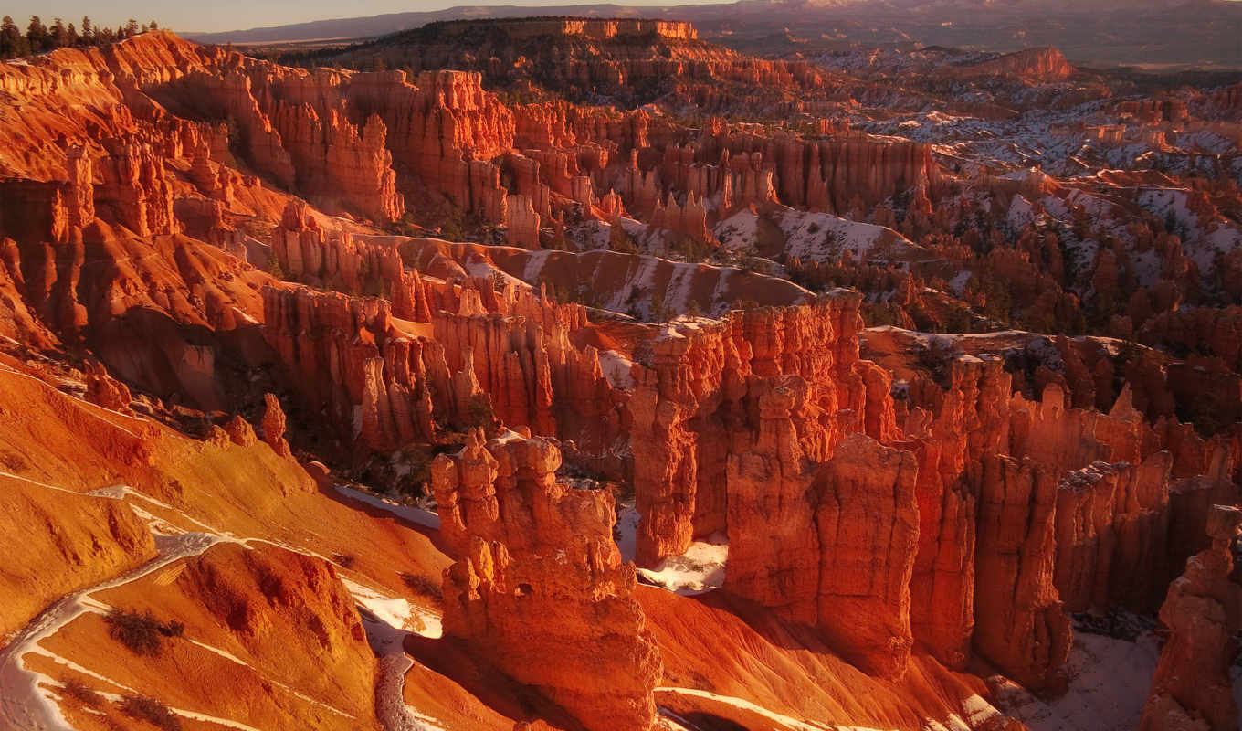 bryce, широкоформатные, марта, park, national, amphitheater, utah, каньон, девушка,