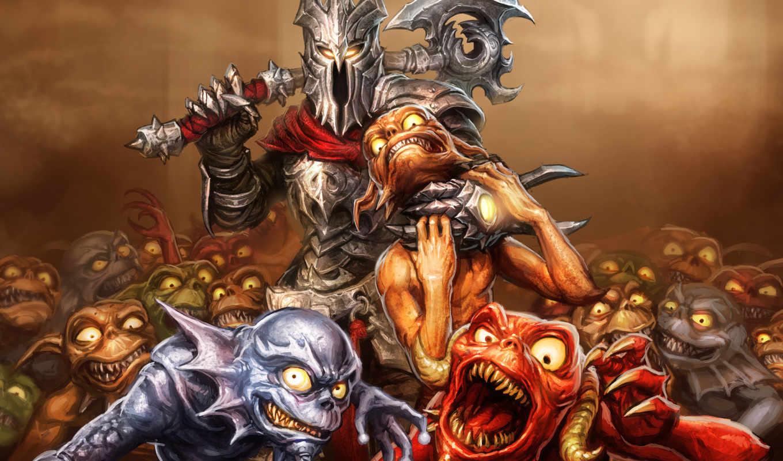 overlord, dark, сказание, игры, властелин,