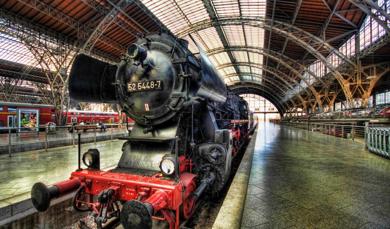 train, steam, germany, dresden, паровоз, desktop,