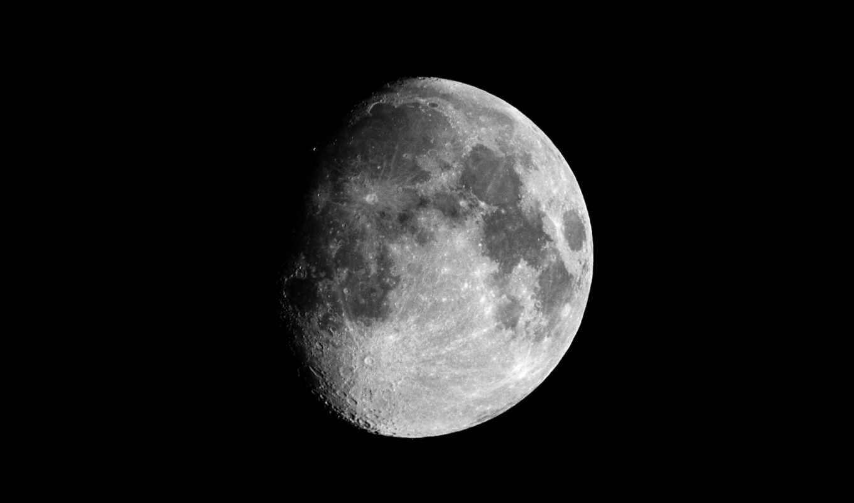 луна, космос, earth,