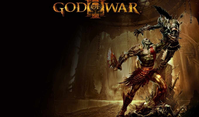 бесплатные, gamereview, game, god, war, монитора, заставки,