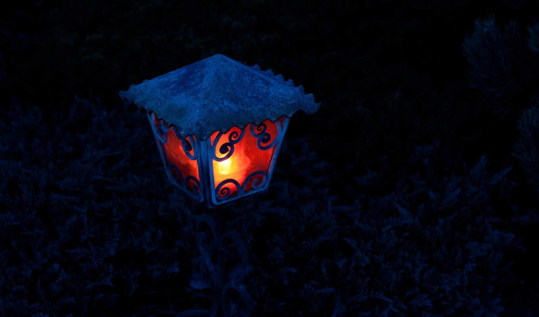 lantern, свет, ночь,