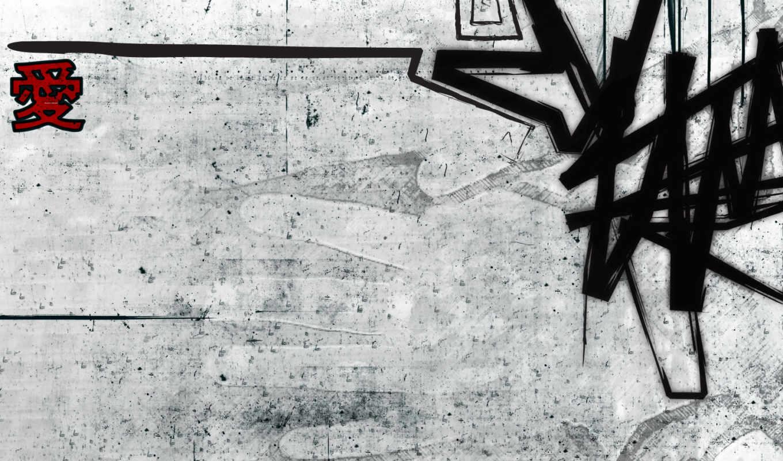 фон, graffito, graffiti,