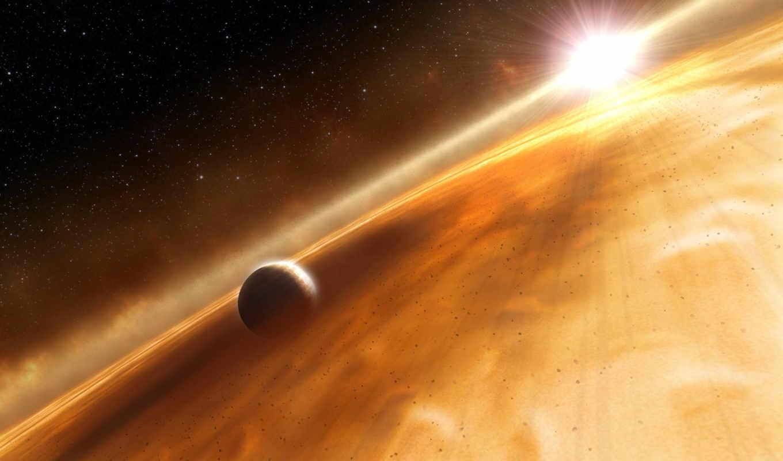 планета, звезда, облако, fomalhaut, space, картинка, has,