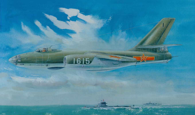 beagle, рисованные, авиация, самолеты, гончая, trumpeter, бомбардировщик,