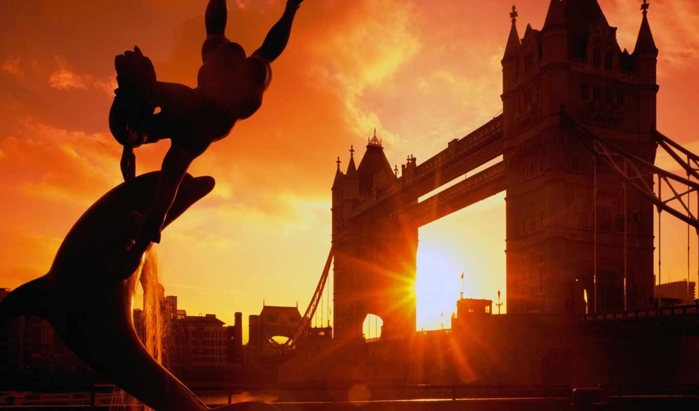 англия, город, мост, kent, castle, башня, london, мосты, english,
