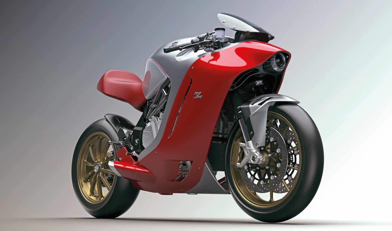 мотоцикл, zagato, agusta, дебютный, designed,