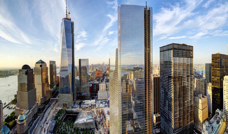 york, new, город, papel, parede, manhattan, world, trade, nyc,