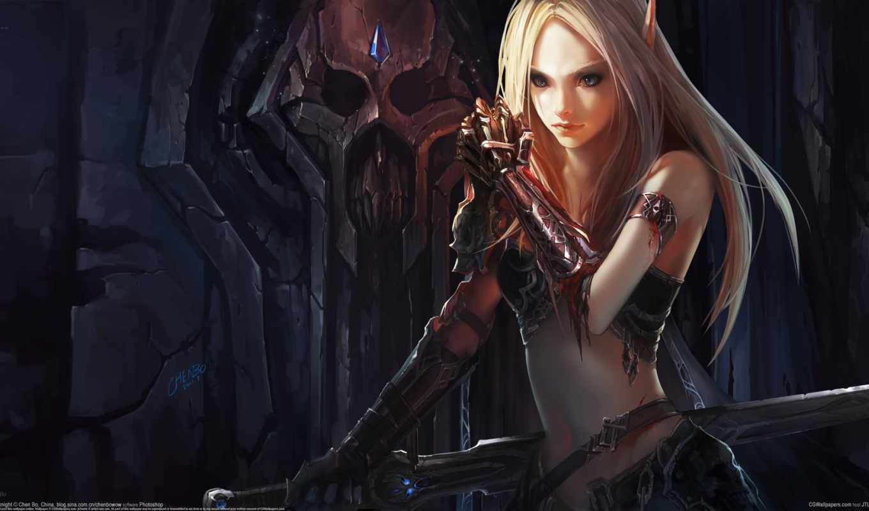 world, кровь, warcraft, игры, эльф, кровавая,