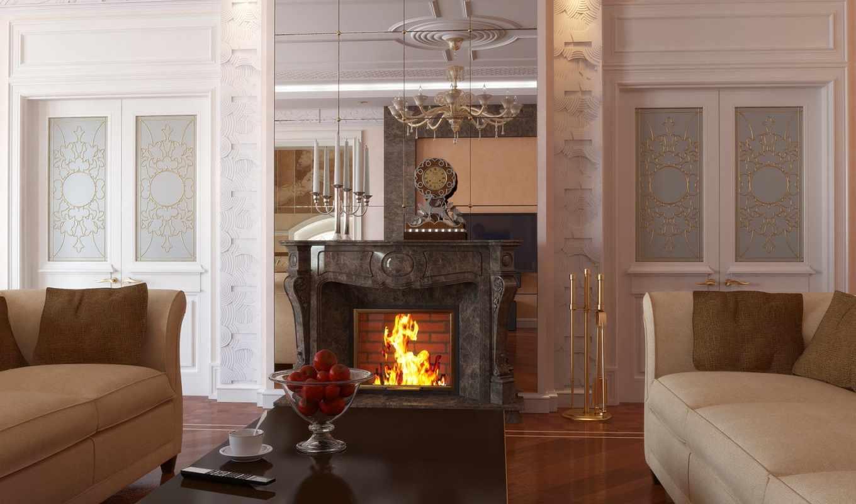 камин, комната, comfort, вино, романтика, янв, плед,