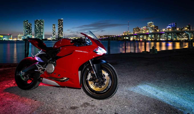 ducati, panigale, дукати, мотоцикл, red, great,