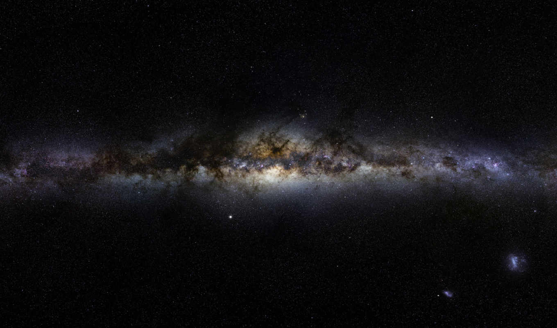 млечный, путь, космос, галактика, панорама, you, wish, were, here, bdrip, home, der,