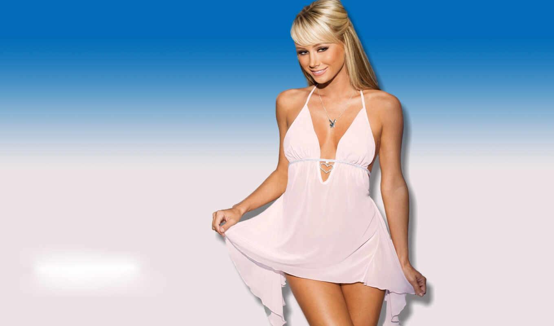 девушки, платье, sara, завораживающие, будет, blonde, девушка,